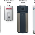 different types of water heaters